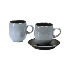 Denby Jet Grey Large Mug