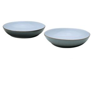 Denby Jet Grey Pasta Bowl