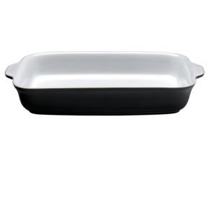 Denby Jet Oblong Serving Dish