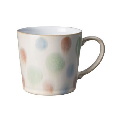 Denby Multi Spot Painted Large Handcrafted Mug