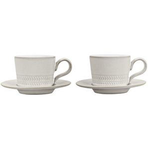 Denby Natural Canvas 4 Piece Espresso Set