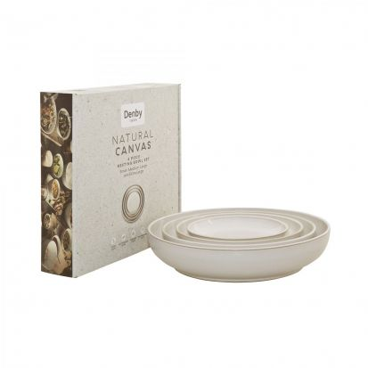 Denby Natural Canvas Nesting Bowl Set