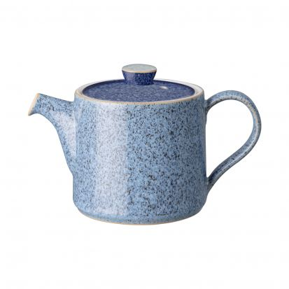 Denby Studio Blue Flint Brew Small Teapot