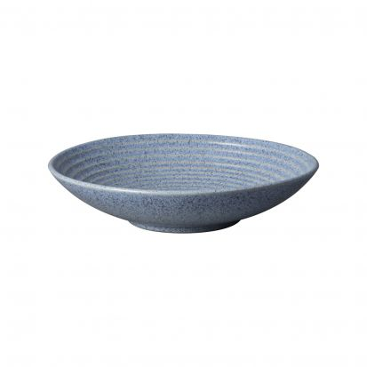 Denby Studio Blue Flint Large Ridge Bowl