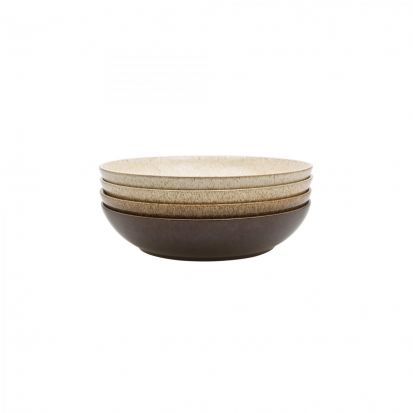 Denby Studio Craft 4 Piece Pasta Bowl Set