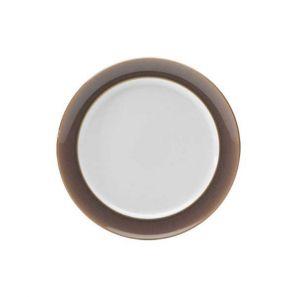 Denby Truffle Wide Rimmed Dessert/Salad Plate