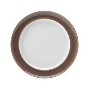 Denby Truffle Wide Rimmed Dinner Plate