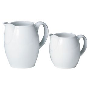 Denby White Small Jug