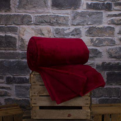 Deyongs Hudson Throw - Crimson