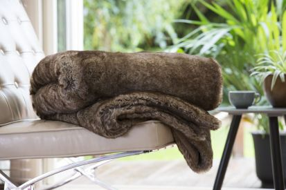 Deyongs Paddington Faux Fur Throw