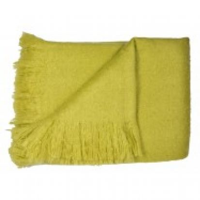 Dreams and Drapes Alexa Lime Throw