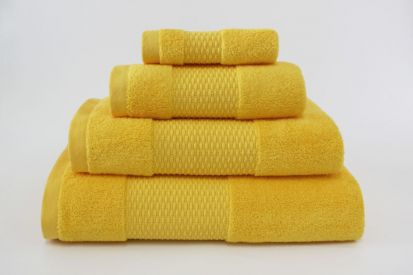 Elainer Duchess Bath Towel - Yellow