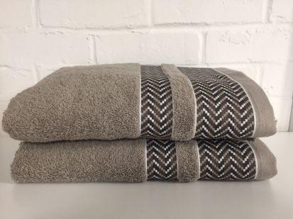 Elainer Duke Bath Sheet - Taupe