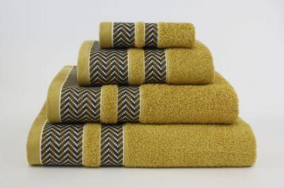 Elainer Duke Hand Towel - Mustard