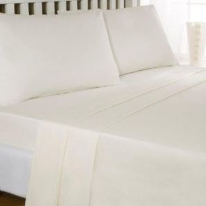Eleanor James Anabel Sheet Set Cream Single