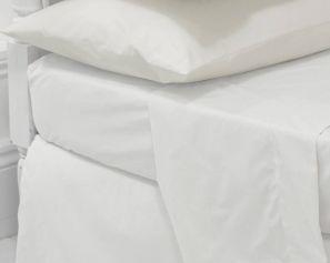 Eleanor James Anabel Sheet Set White Single