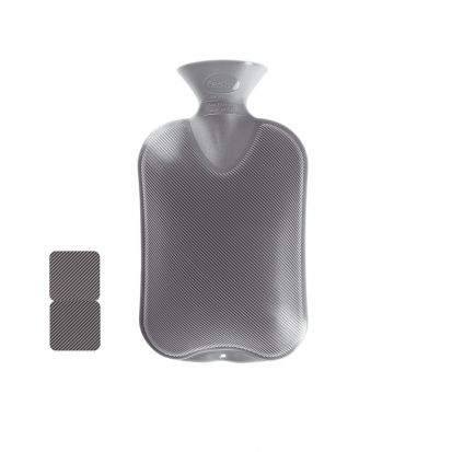 Fashy Hot Water Bottle Anthracite Grey 1
