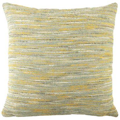 Flourish Ochre Cushion