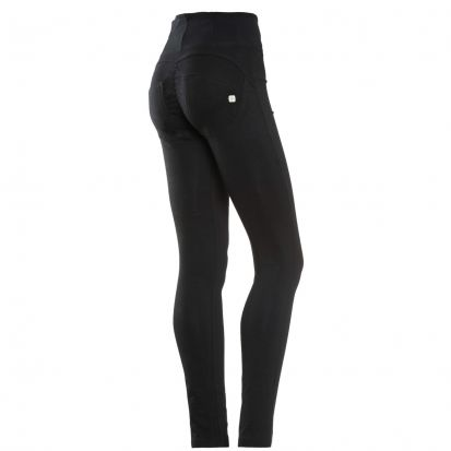 Freddy High Waist Black Jeans