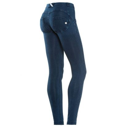 Freddy Mid Rise Dark Denim Jeans
