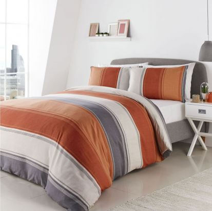 Fusion Betley Spice Duvet Cover Set - Double