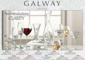 Galway Crystal Clarity Carafe