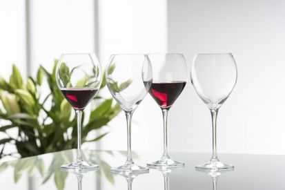 Galway Crystal Clarity Glassware - Red Wine Glass Set of 4