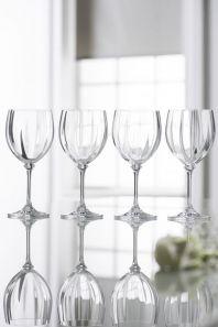 Galway Crystal Erne Goblets Set of 4
