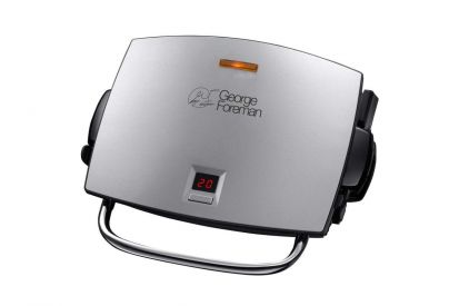 George Foreman 4 Portion Grill & Melt with Timer