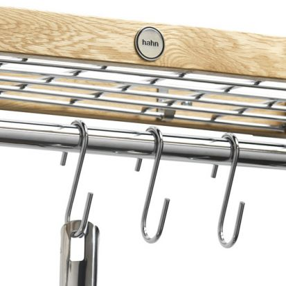 Hahn Chrome S Hook 6 Pack