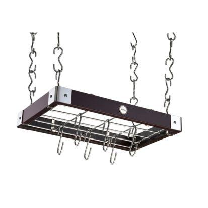 Hahn Metro Espresso Ceiling Rack