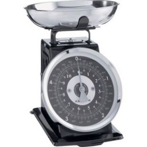 Hanson Mechanical Kitchen Scales Black
