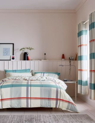 Helena Springfield Klint Coral Duvet Cover Set - Double