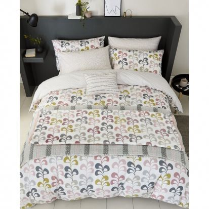 Helena Springfield Liv Blush Duvet Cover Set - Single