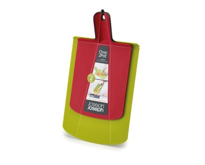 Joseph Joseph Chop2Pot Twin Pack Red & Green