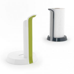 Joseph Joseph Easy Tear Kitchen Roll Holder - Dark Grey/Grey