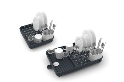 Joseph Joseph Extendable Dish Rack Grey