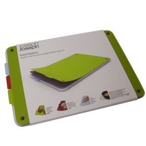 Joseph Joseph Food Station Chopping Mats & Glass Board