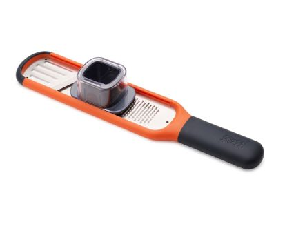 Joseph Joseph Handi-Grate 2-in-1 Mini Grater & Slicer - Orange