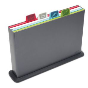 Joseph Joseph Index Silver Chopping Boards - Graphite