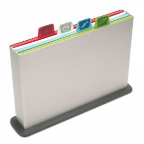 Joseph Joseph Index Silver Chopping Boards - Silver