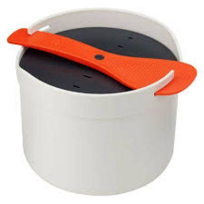 Joseph Joseph M-Cuisine Microwave Rice Cooker - Stone/Orange Main