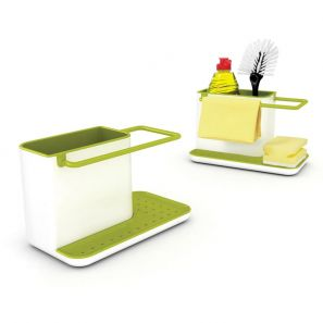 Joseph Joseph Sink Aid Caddy - White/Green