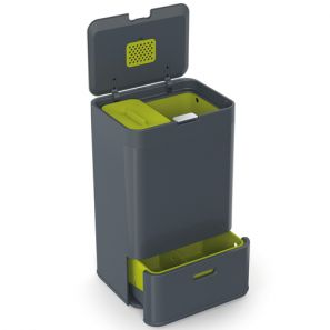 Joseph Joseph Totem 50L Intelligent Waste & Recycling Bin