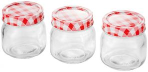 Judge 250ml 3 Pce Preserving Jar Set TC326