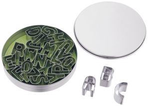 Judge Alphabet Cookie Cutters TC204