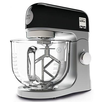 Kenwood kMix Stand Mixer Black - With Glass Mixing Bowl