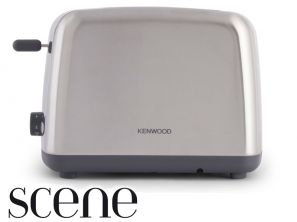 Kenwood Scene 2 Slice Stainless Steel Toaster TTM440