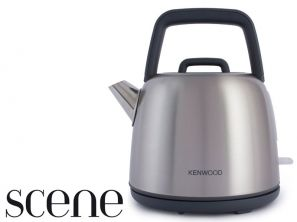 Kenwood Scene Stainless Steel Traditional Kettle SKM460
