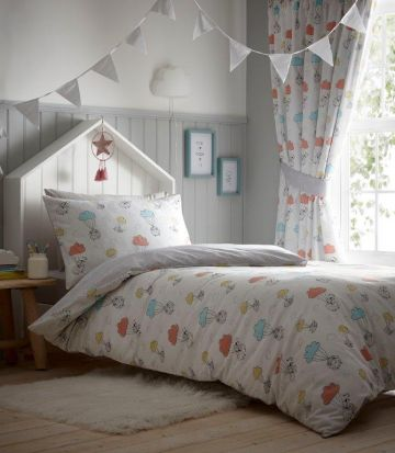 Kids' Club Sheep Dreams Lined Curtains - 66